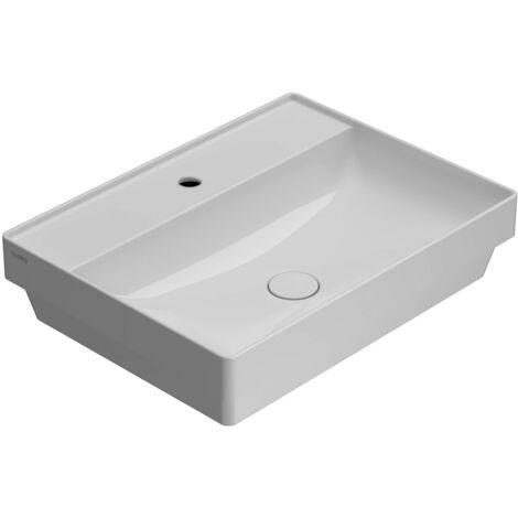 Vasque à encastrer en céramique 61.46 Globo T-EDGE B6R62   Blanc - Globo BI