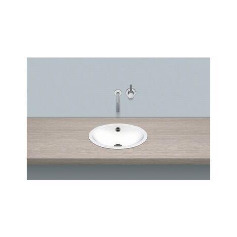 Vasque à encastrer en forme d'alape EB.O425, ovale L : 425mm H : 110mm P : 325mm, 2100000000, blanc - 2100000000