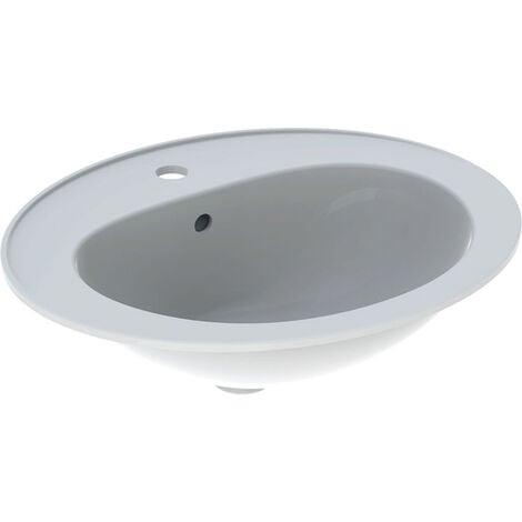 Vasque à encastrer Geberit Bastia 56cm - Blanc