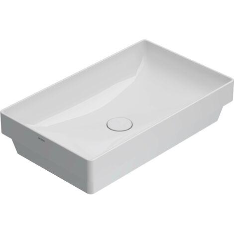 Vasque à encastrer rectangulaire Globo T-EDGE B6R61   Blanc - Globo BI