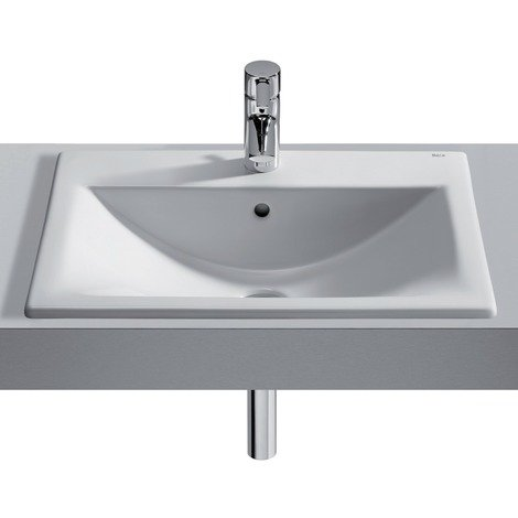 Vasque à encastrer Roca Diverta 550x425 - Blanc