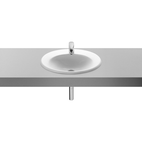 Vasque à encastrer Roca Java 56x47.5 blanc