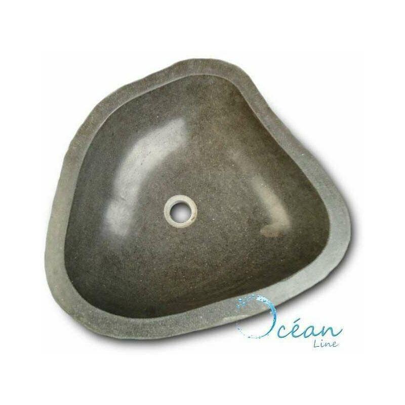 vasque a poser pierre de riviere ManoMano