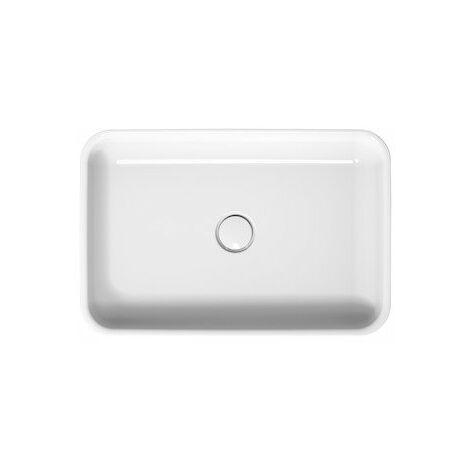 Vasque à poser Bette Art sans trou de robinet, A181 600 x 400 mm, Coloris: Blanc - A181-000