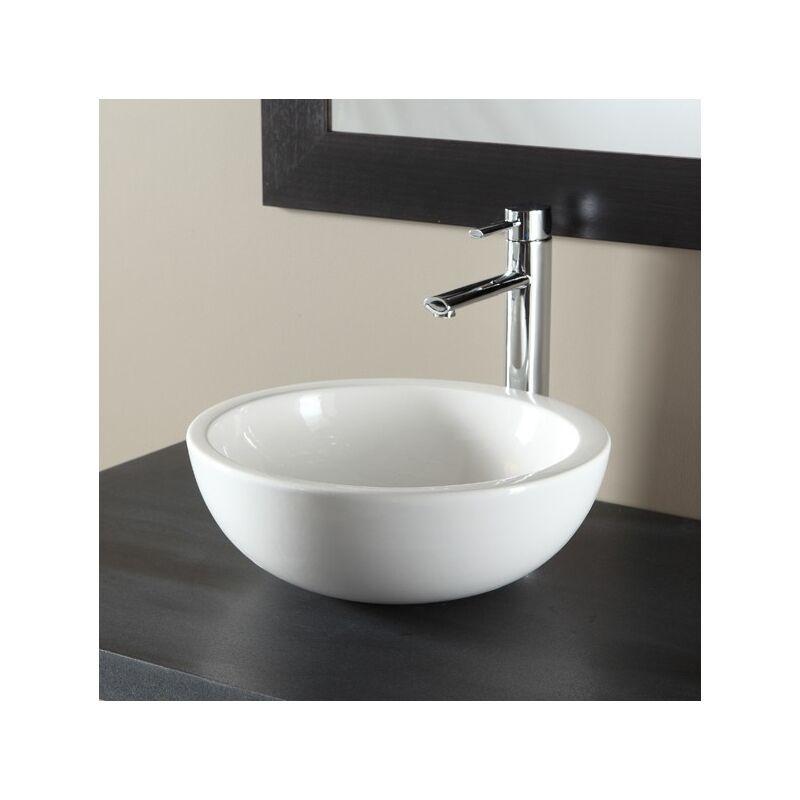 vasque a poser blanche ManoMano