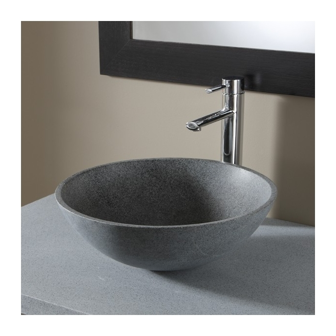 vasque a poser gris ManoMano
