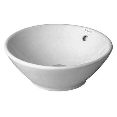 Vasque à poser Duravit Bacino 420mm - Blanc