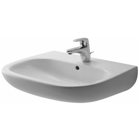 Vasque à poser Duravit Happy D.2 600 mm - Blanc