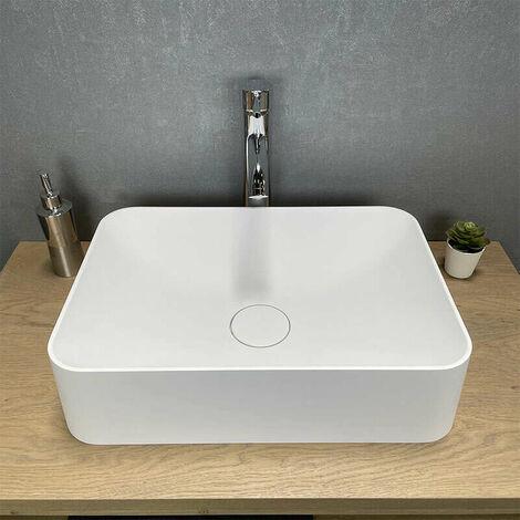Vasque à poser rectangulaire 50 cm - Valeria