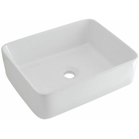 Vasque à poser rectangulaire Alswear – 48 x 37cm