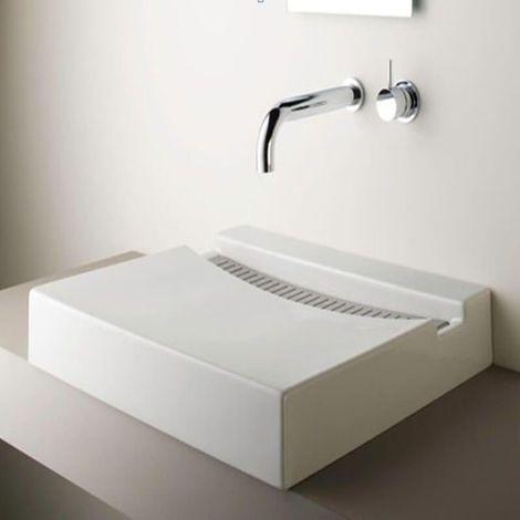 Vasque à Poser Rectangulaire - Solid surface - 60x46 cm - Line