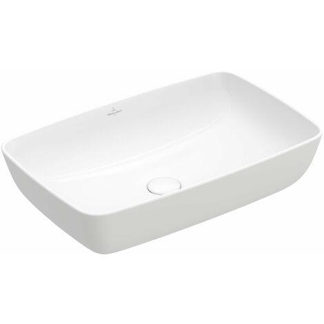 Vasque à poser Villeroy & Boch Artis 417258, 580x380mm, sans trop-plein, Coloris: Starwhite Ceramicplus - 417258R2
