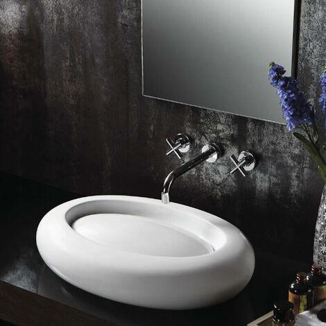 Vasque à Poser Ovale - Céramique - 65x46 cm - Artic