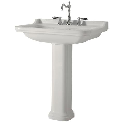 Vasque céramique Waldorf 80cm perçage 3 trous - Ondyna WD8155