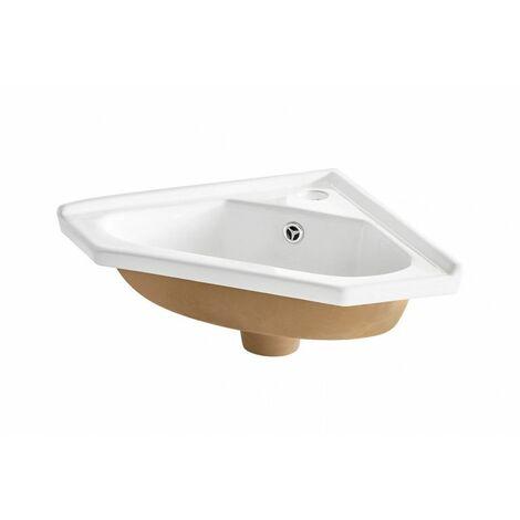 Vasque d'angle - 41 x 19 x 41 cm - Livraison gratuite