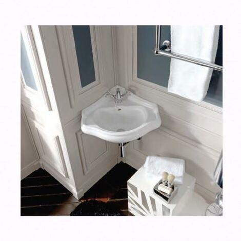 Vasque en céramique pour lavabo d'angle rétro CHAMBORD - CRISTINA ONDYNA WCH1032