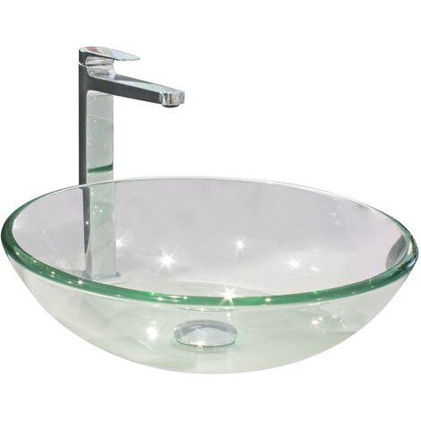 Vasque en verre MITRA