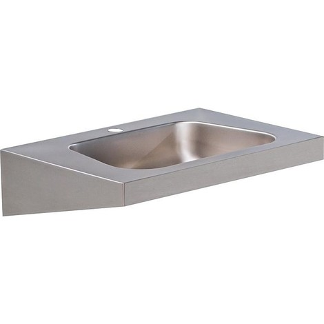 Vasque inox avec percage 600x420mm