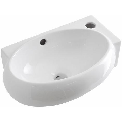 Vasque suspendue ovale 43 x 28cm Ashbury