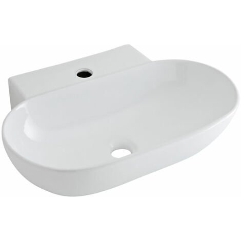 Vasque suspendue ovale 55.5 x 39.5cm Otterton