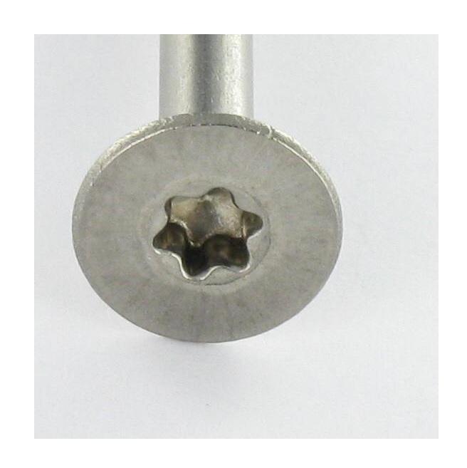 Vis à métaux VIS METAUX TETE FRAISEE 4X16 TORX T20 INOX A2 Jardin