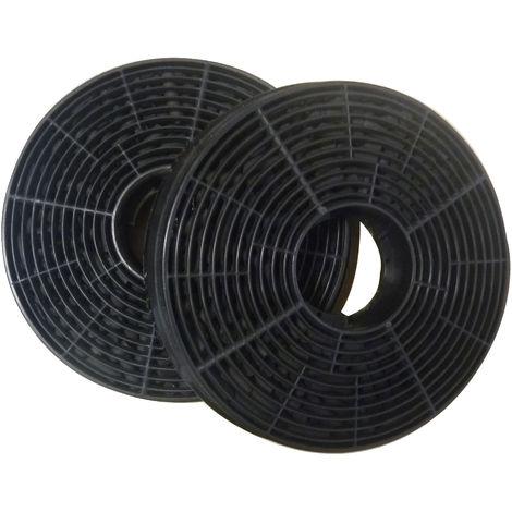 VDAKF02 Filtro de carbón activo para campana de cocina VIESTA VDE6065SR/ reemplazo de filtros para la recirculación de campanas extractoras