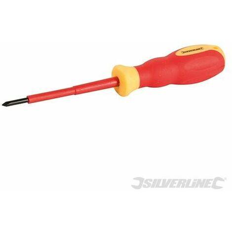 Hilka 33910180 VDE Screwdriver Soft Grip Pozi PZ1 x 80mm