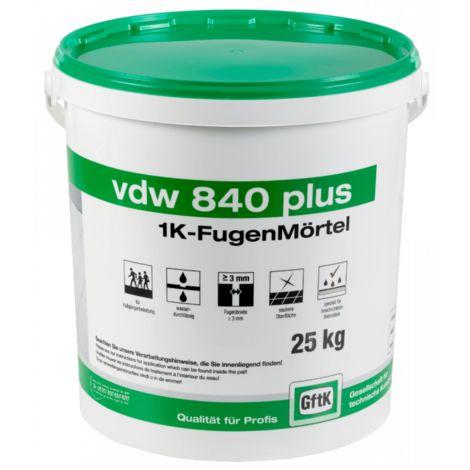 vdw 840 plus 1K-Fugenmoertel