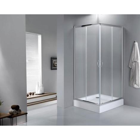 VeeBath Fenwick 6mm Corner Entry Shower Enclosure