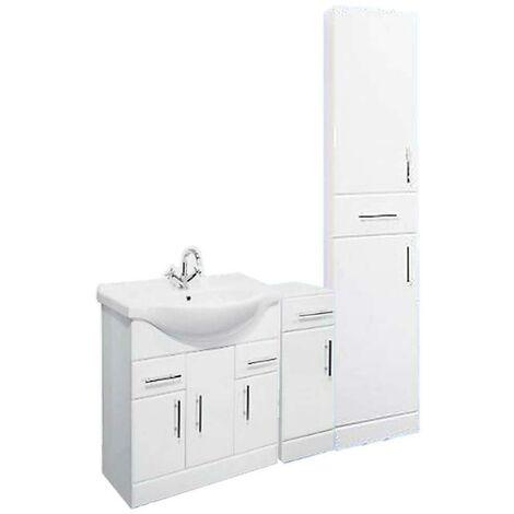 VeeBath Linx Vanity Unit Bathroom Storage Cabinet Furniture Combo Set - 1350mm