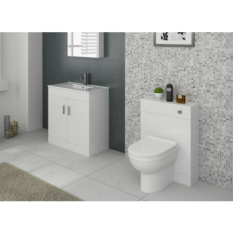 VeeBath Sphinx Bathroom Furniture Suite Vanity Cabinet WC Cistern Unit - 1300mm