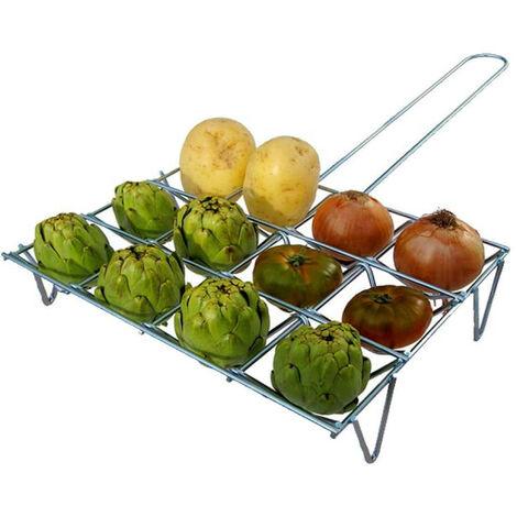 Vegetable grid - Zinc - 6 pcs