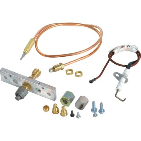 Veilleuse complète sans électrode DIETRIGAZ L-M-S-H/DTG C Réf. 81558912 DE DIETRICH