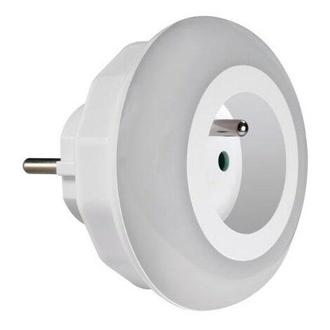 LED veilleuse avec capteur de mouvement pour prise lampe 8 LED 0,6 seulement