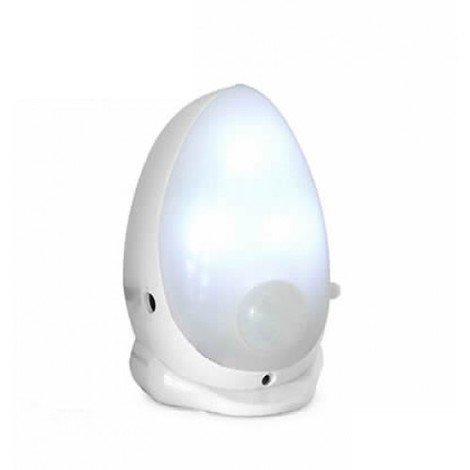 """main image of """"Veilleuse lumineuse portative à piles (non incluses) avec détecteur crépusculaire et détecteur de mouvement ULF AVIDSEN 103610"""""""