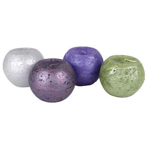 Vela bola Verde