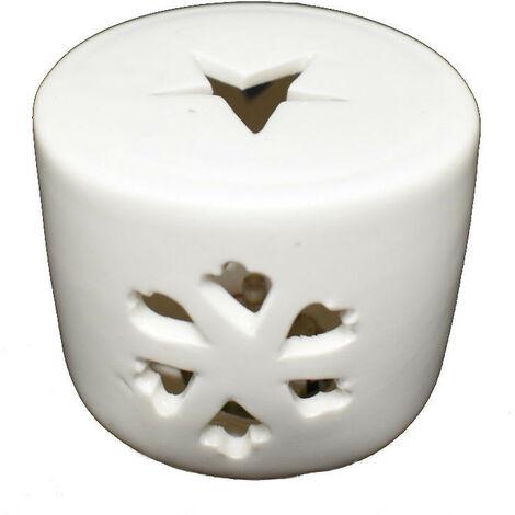 Vela de Navidad Wimex de cerámica de la ESTRELLA de la CÁLIDA luz cálida 4501060