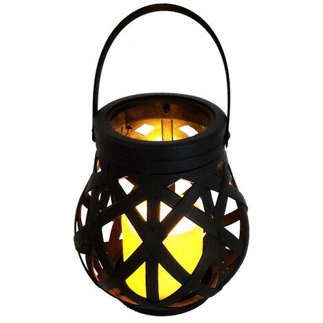 Vela decorativa titilante con farol (F-Bright 2423213)