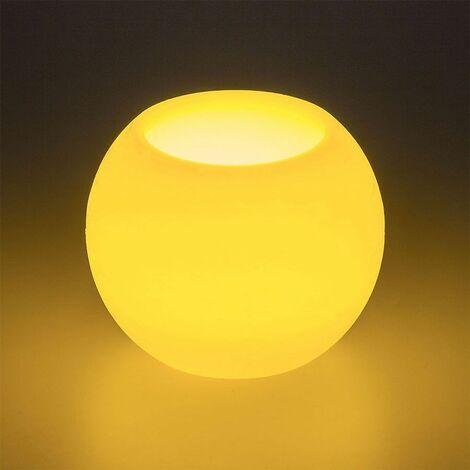 Vela LED de cera Blanco cálido en pila