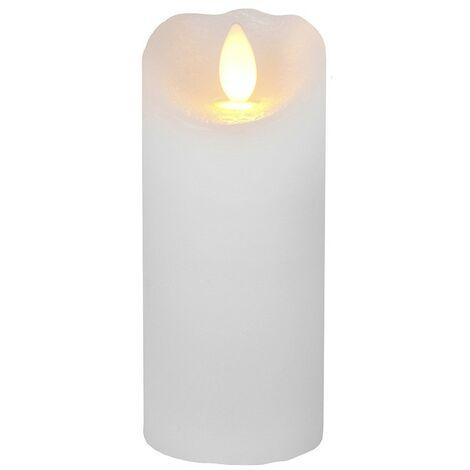 Vela LED Wax GLOW Llama parpadeo 15cm