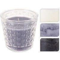 Vela Vaso Cristal 3 Colores - KOOPMAN - 420100150