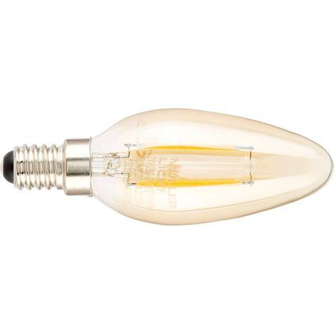 Velas LED 2,2 W E14 oro
