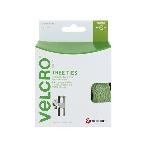 Velcro 60201 Tree Ties Tape Green 50mm x 5 Metre