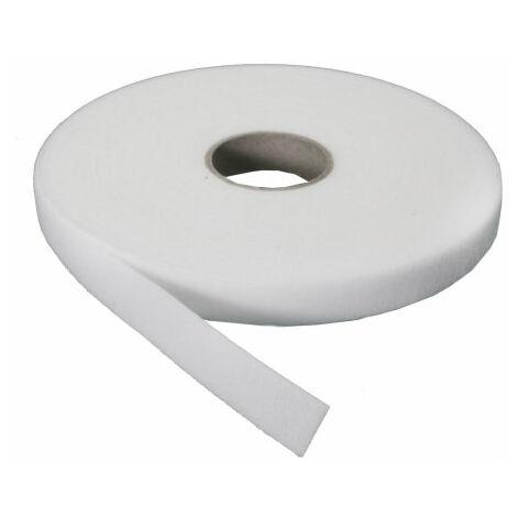 blanco beta gancho adhesivo 20mm