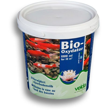Velda Bio-Oxydator 1000ml L'aspirateur biologique pour 10qm du fond du bassin
