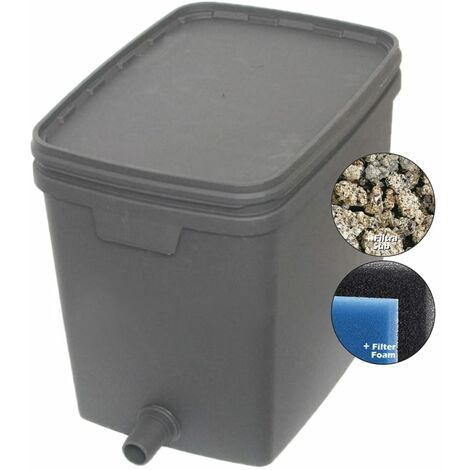 Velda Pond Filter Outdoor Garden Patio Water Filtration System Quality 20L/35L