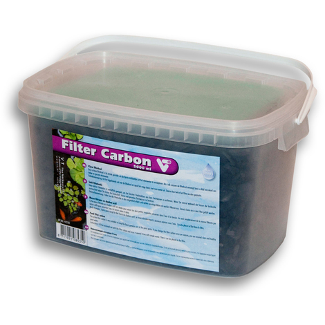 Velda VT Pond Filter Carbon Bucket with 5000ml including filter grid