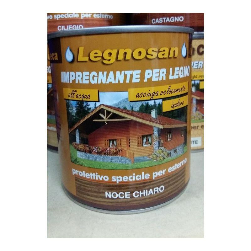 Image of Veleca Legnosan Impregnante Per Legno Pronto All'uso x Esterno Noc.Chiaro 750 ML