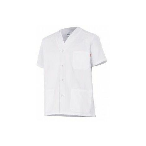 Velilla Chaqueta Pijama Botones Blanco 6