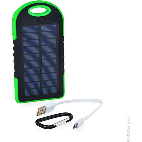Velleman - Batería externa Solar Universal 5V 5000mAh